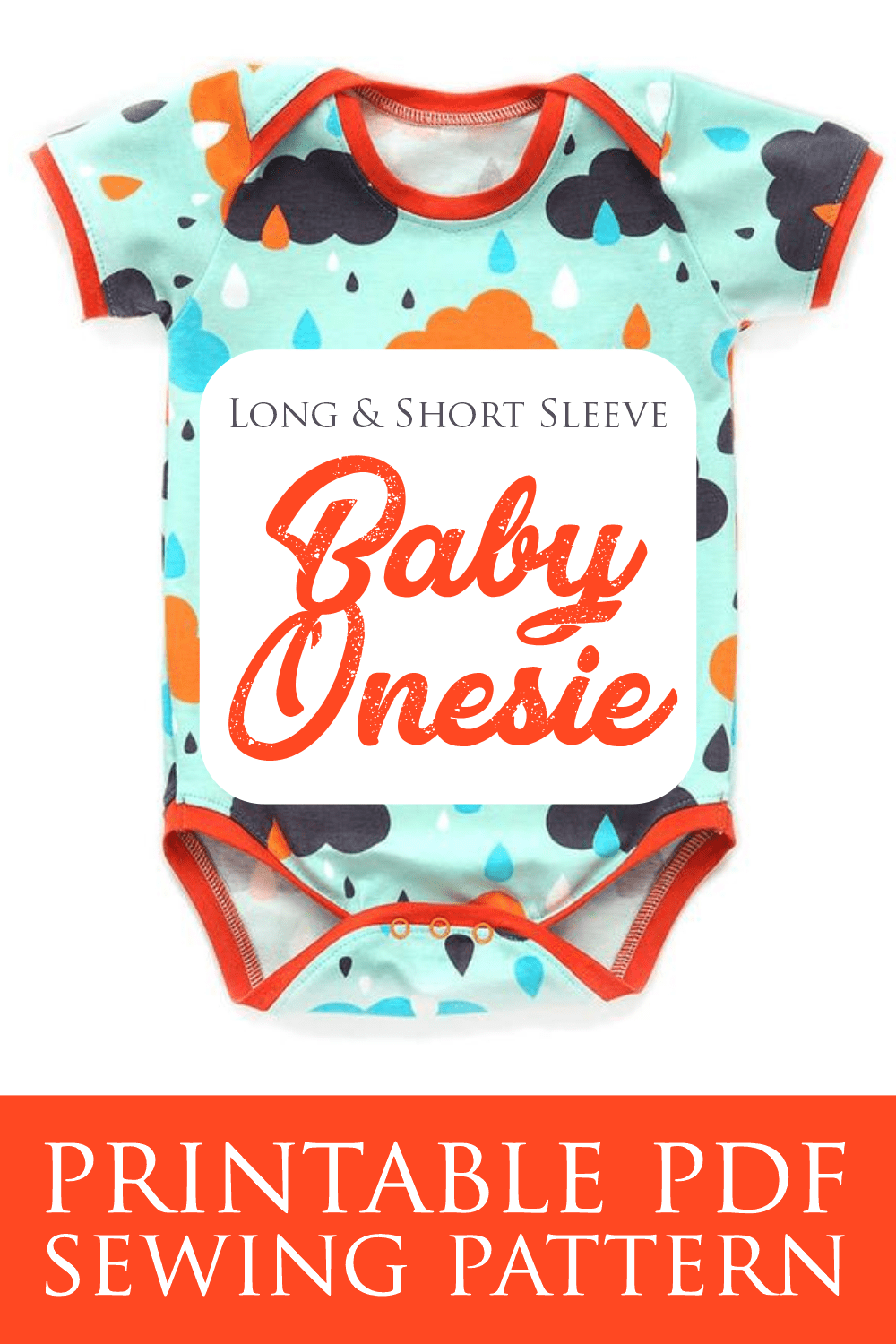 Baby Onesie Sewing Pattern