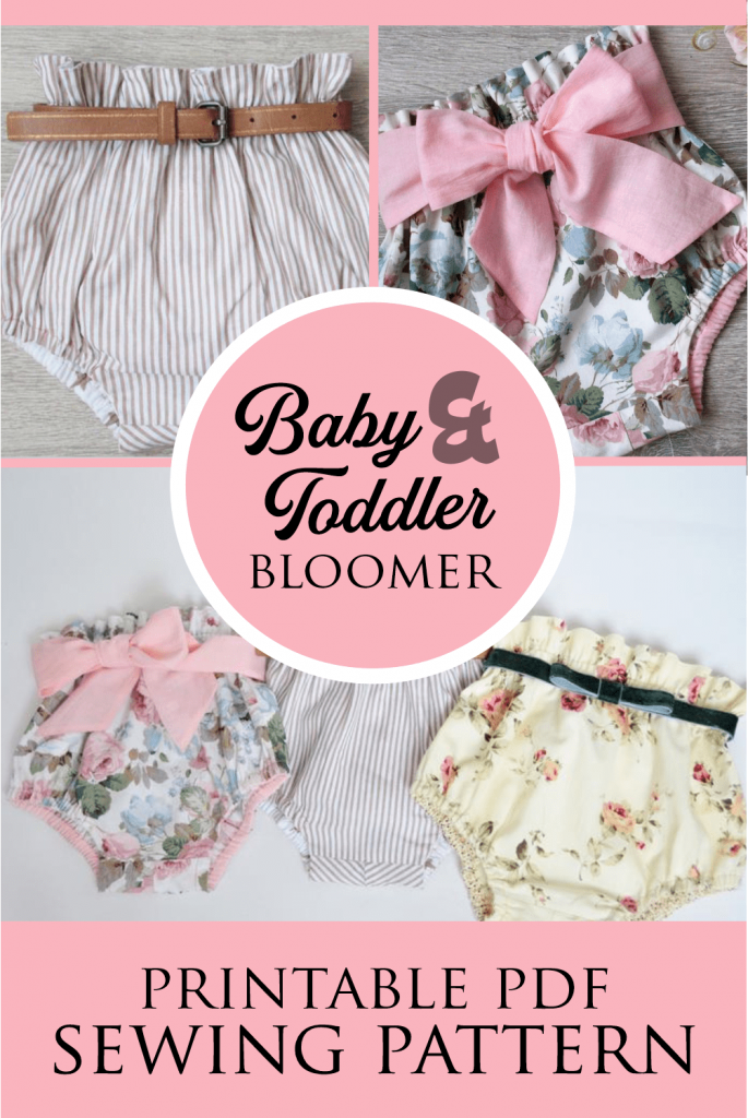 High Waisted Baby Bloomers Pattern