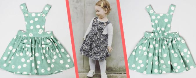 Girls Pinafore Dress Pattern